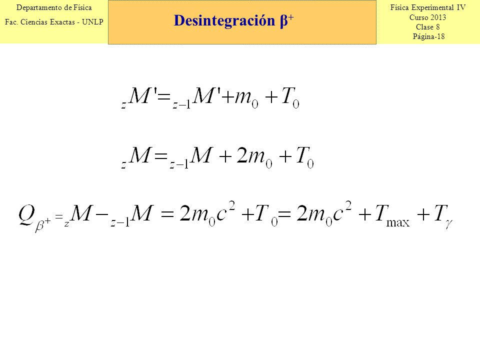 Desintegración β+