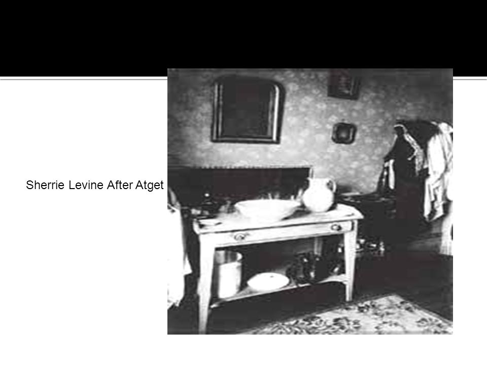 Sherrie Levine After Atget
