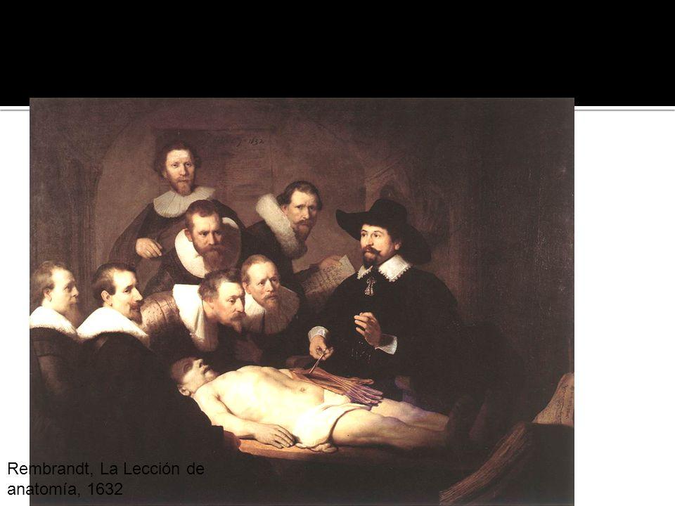 Hipotexto Rembrandt, La Lección de anatomía, 1632