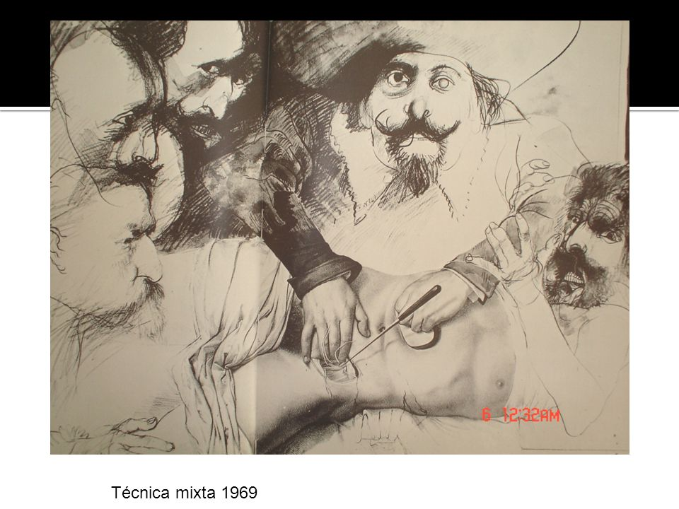 Técnica mixta 1969
