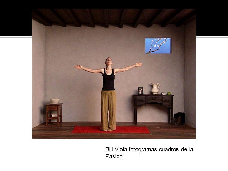 Bill Viola fotogramas-cuadros de la Pasion