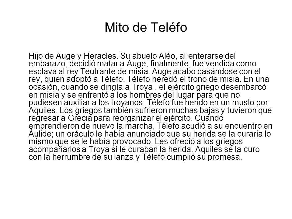 Mito de Teléfo