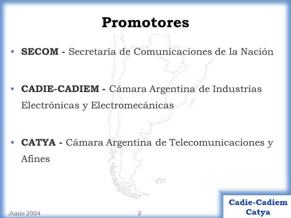 Promotores SECOM - Secretaría de Comunicaciones de la Nación