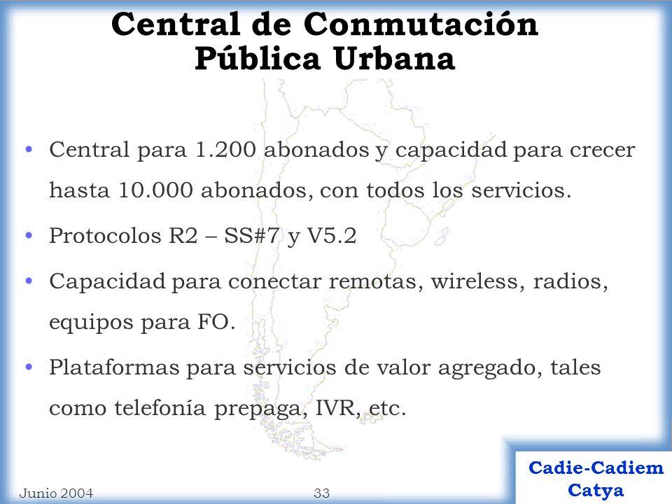 Central de Conmutación Pública Urbana