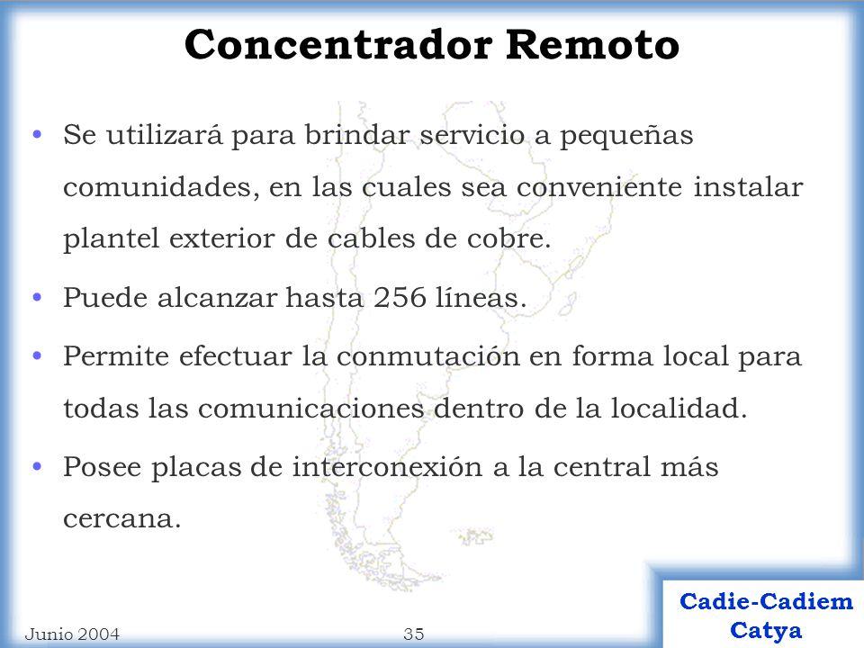 Concentrador Remoto