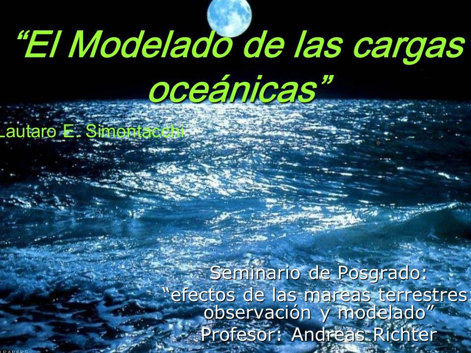 El Modelado de las cargas oceánicas