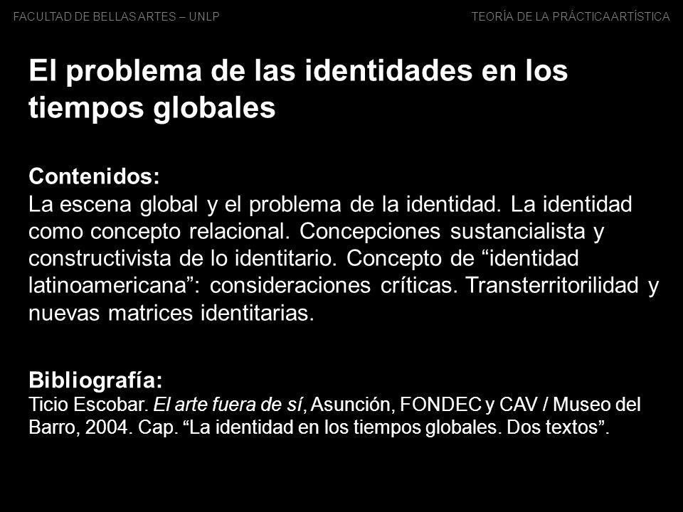 El problema de las identidades en los tiempos globales