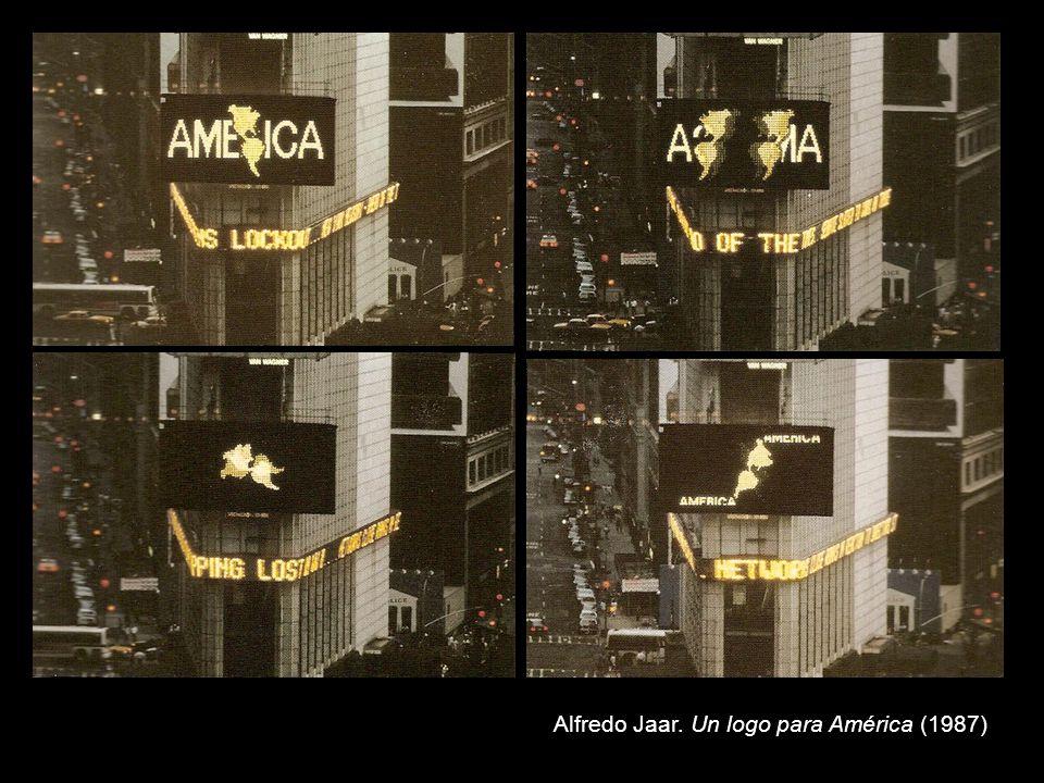 Alfredo Jaar. Un logo para América (1987)