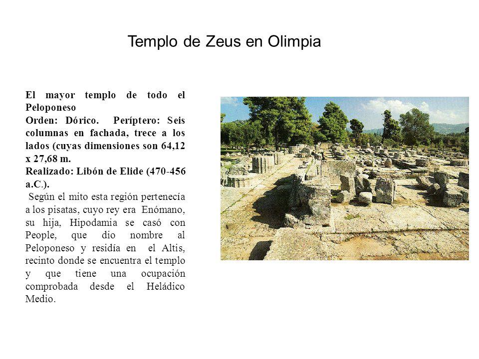 Templo de Zeus en Olimpia