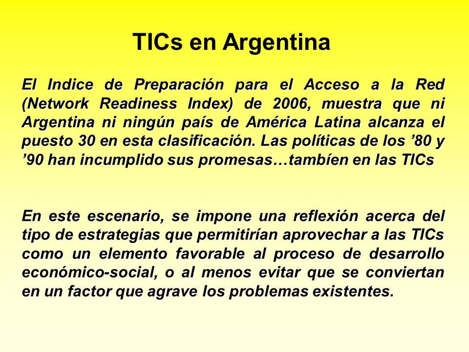 TICs en Argentina