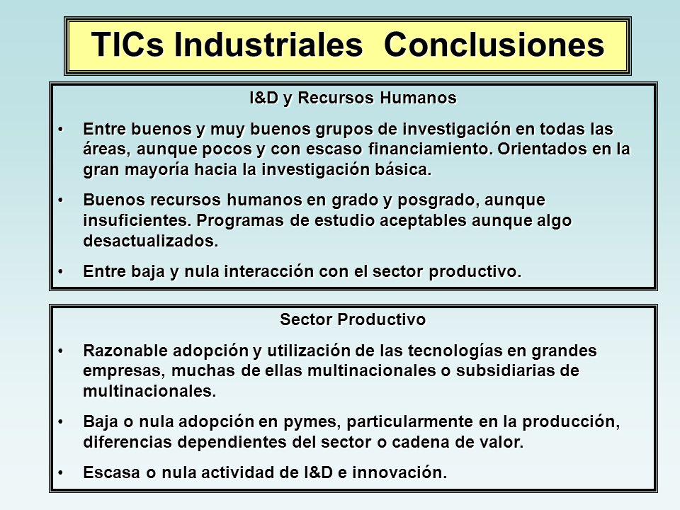 TICs Industriales Conclusiones