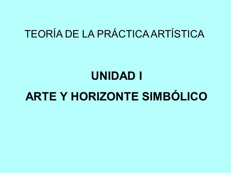 ARTE Y HORIZONTE SIMBÓLICO