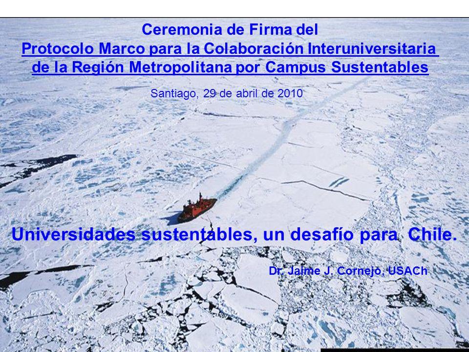 Universidades sustentables, un desafío para Chile.
