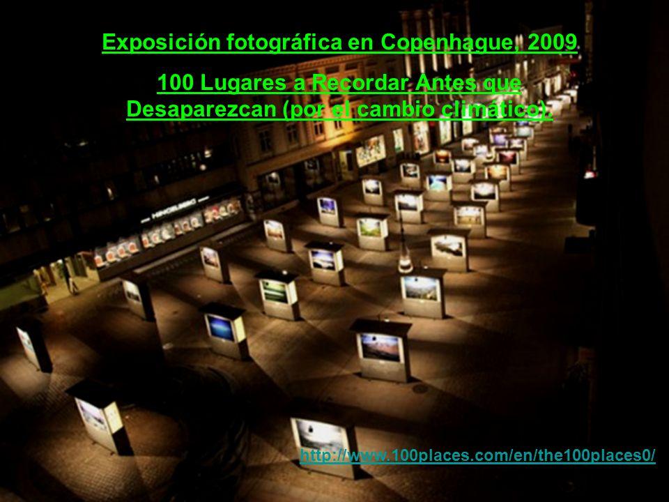 Exposición fotográfica en Copenhague, 2009