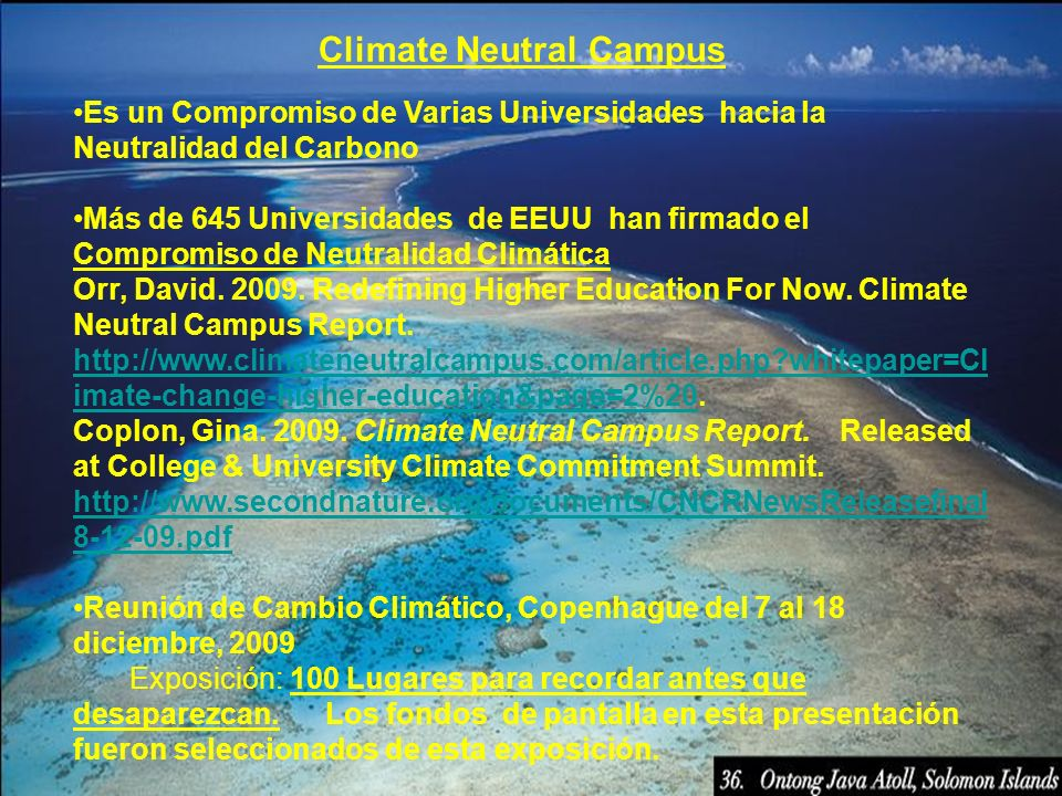 Climate Neutral Campus