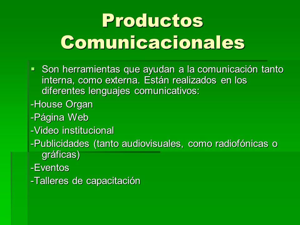Productos Comunicacionales