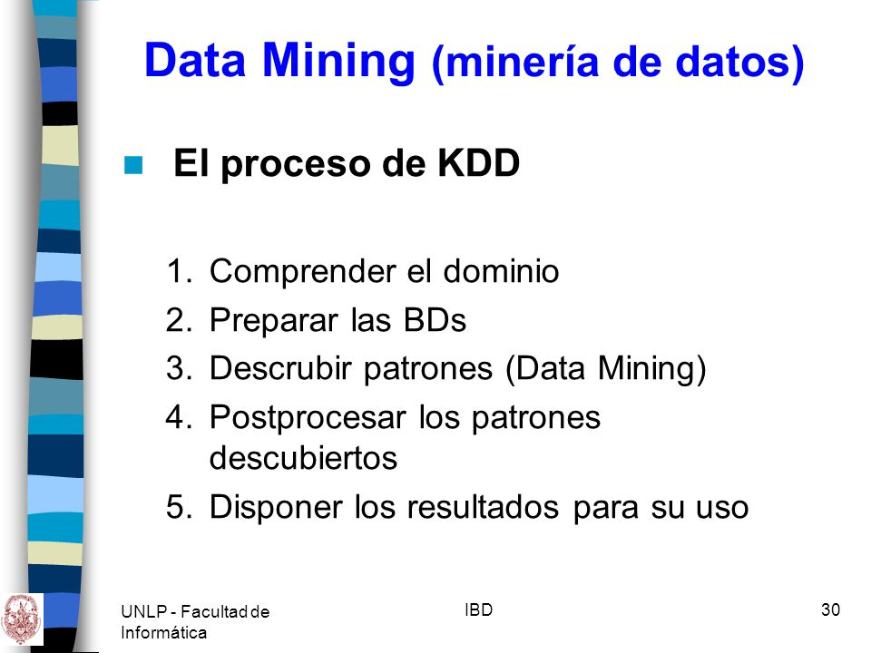 Data Mining (minería de datos)