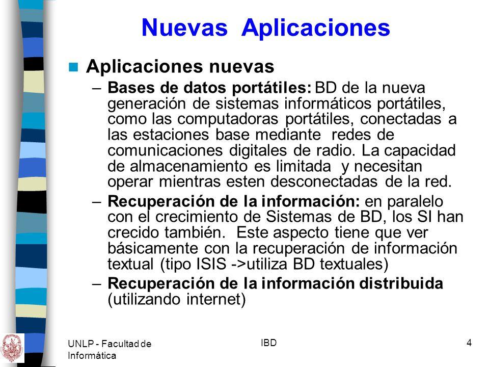 Nuevas Aplicaciones Aplicaciones nuevas