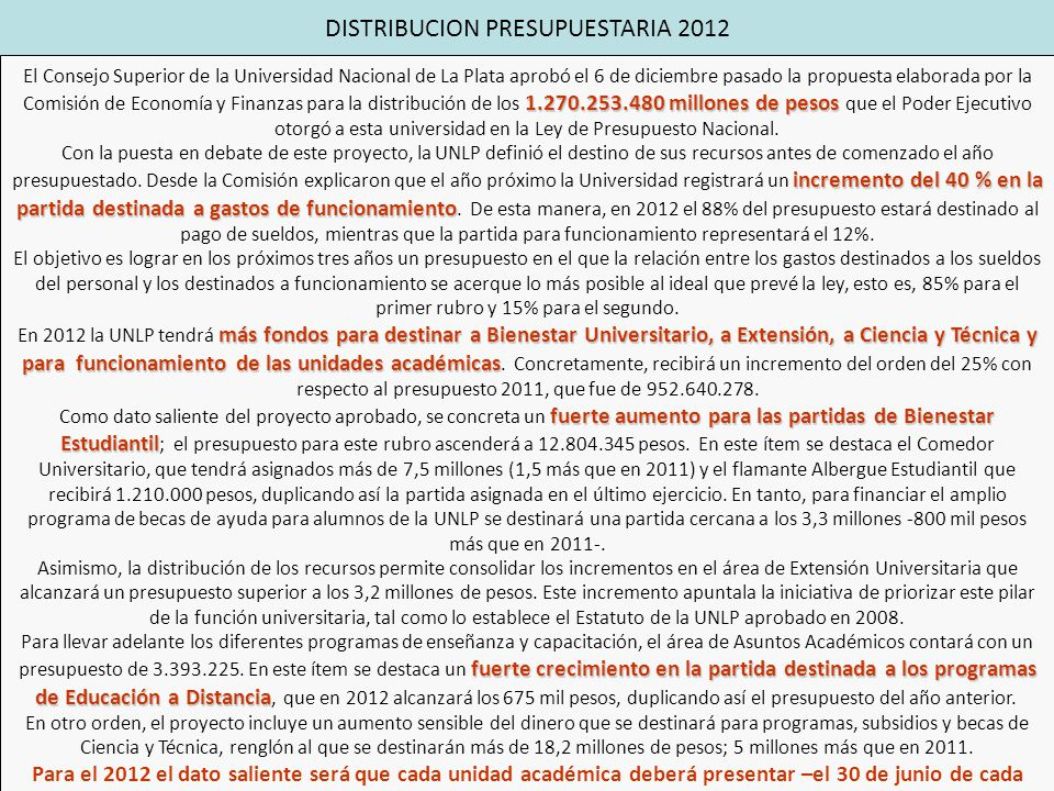 Rrhh recursos financieros ppt descargar for Comedor universitario unlp