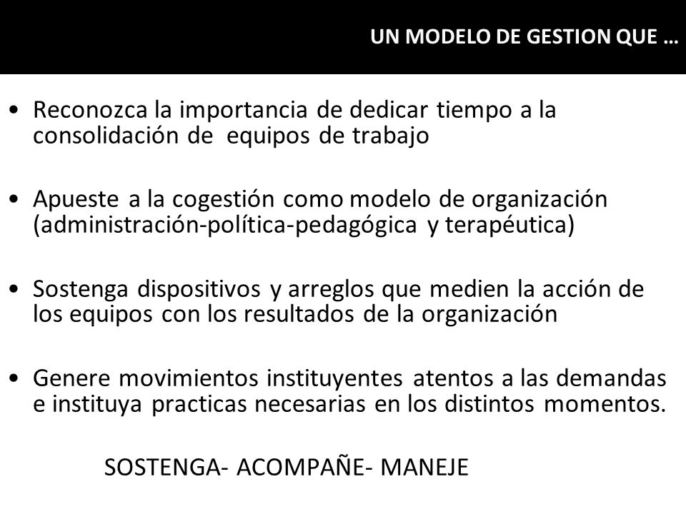 SOSTENGA- ACOMPAÑE- MANEJE