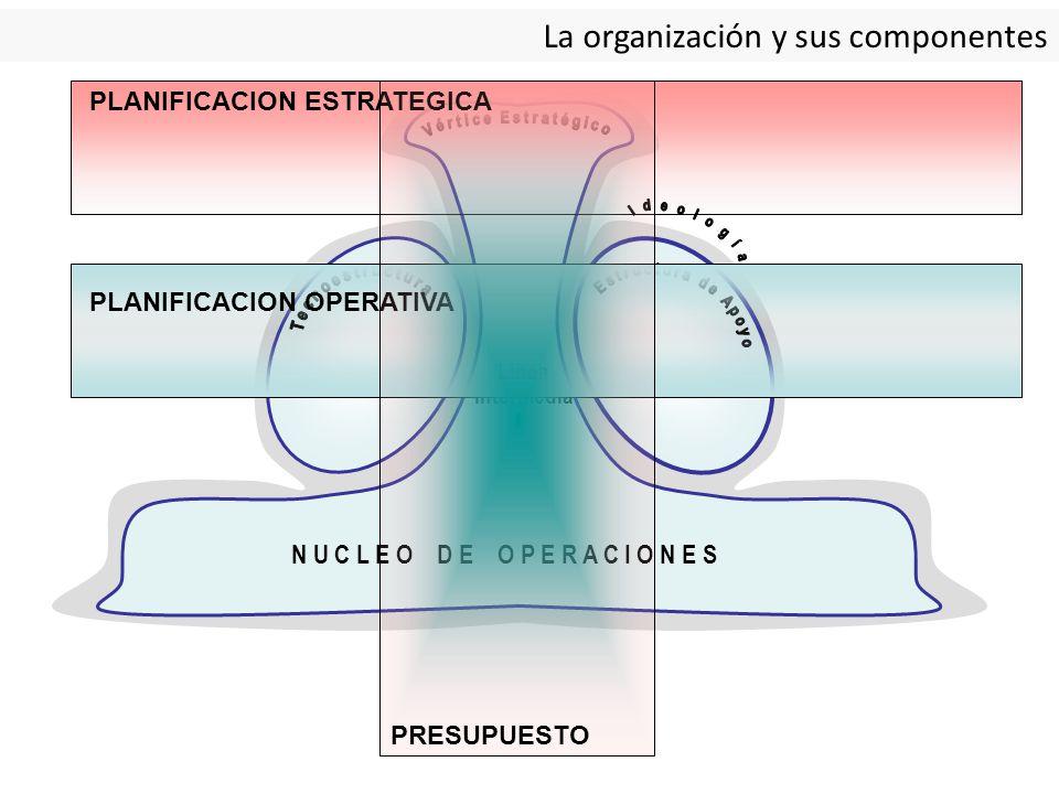 La organización y sus componentes
