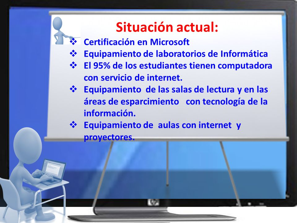 Situación actual: Certificación en Microsoft