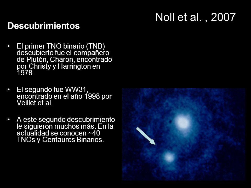 Noll et al. , 2007 Descubrimientos