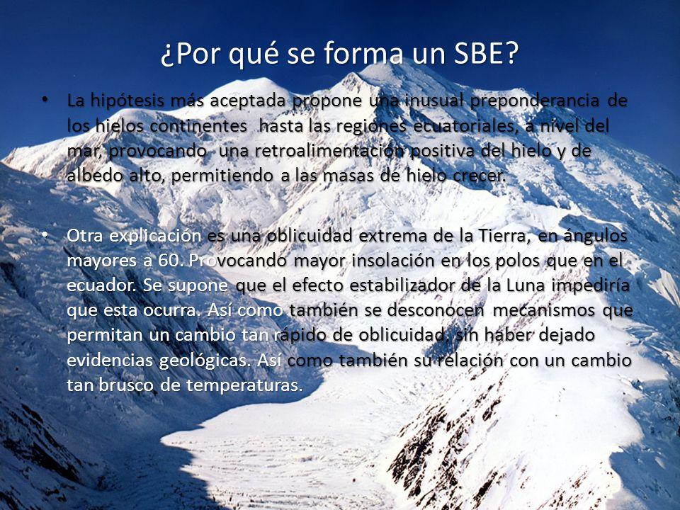 ¿Por qué se forma un SBE