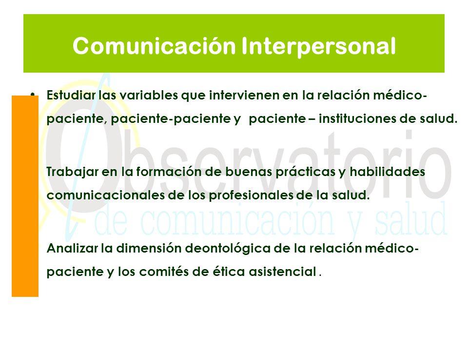 Comunicación Interpersonal