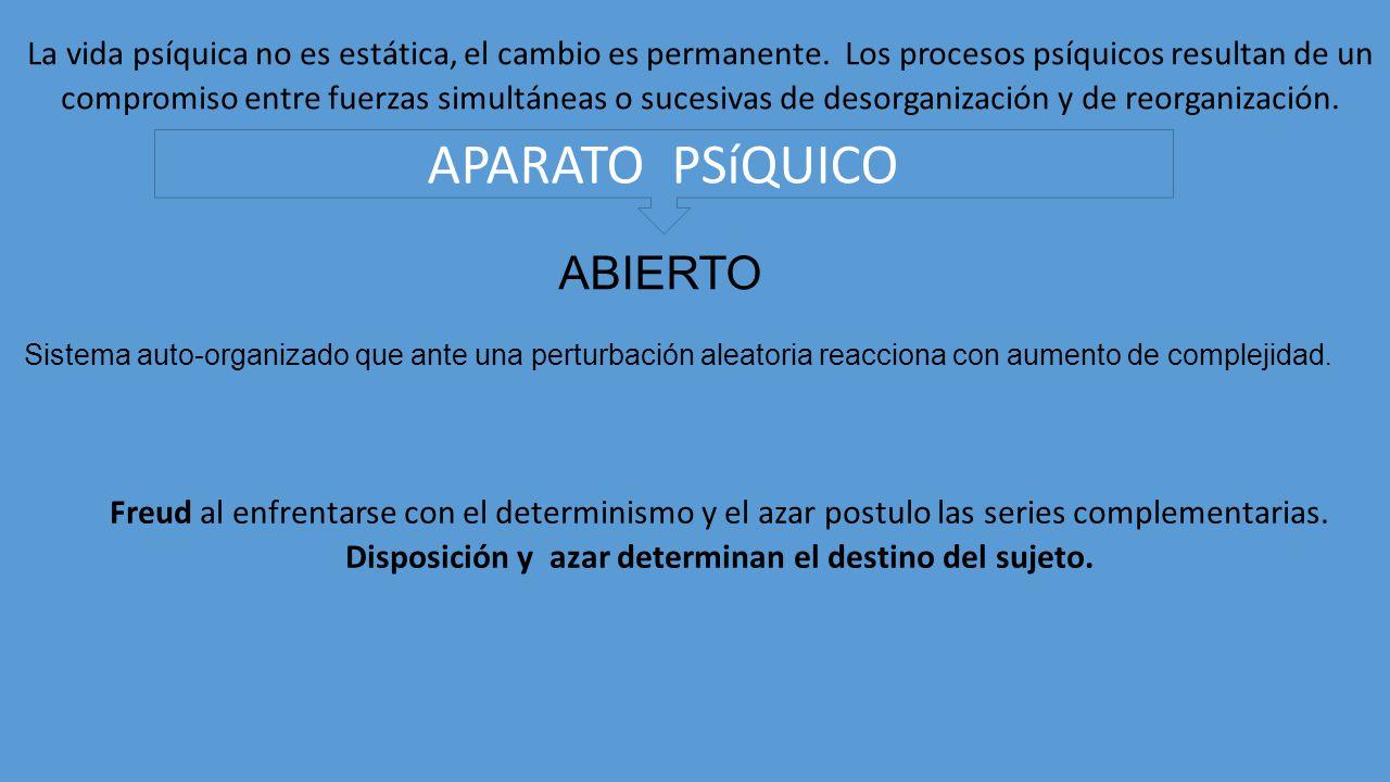 APARATO PSíQUICO ABIERTO