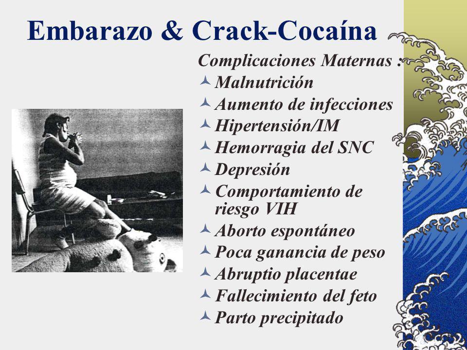 Embarazo & Crack-Cocaína