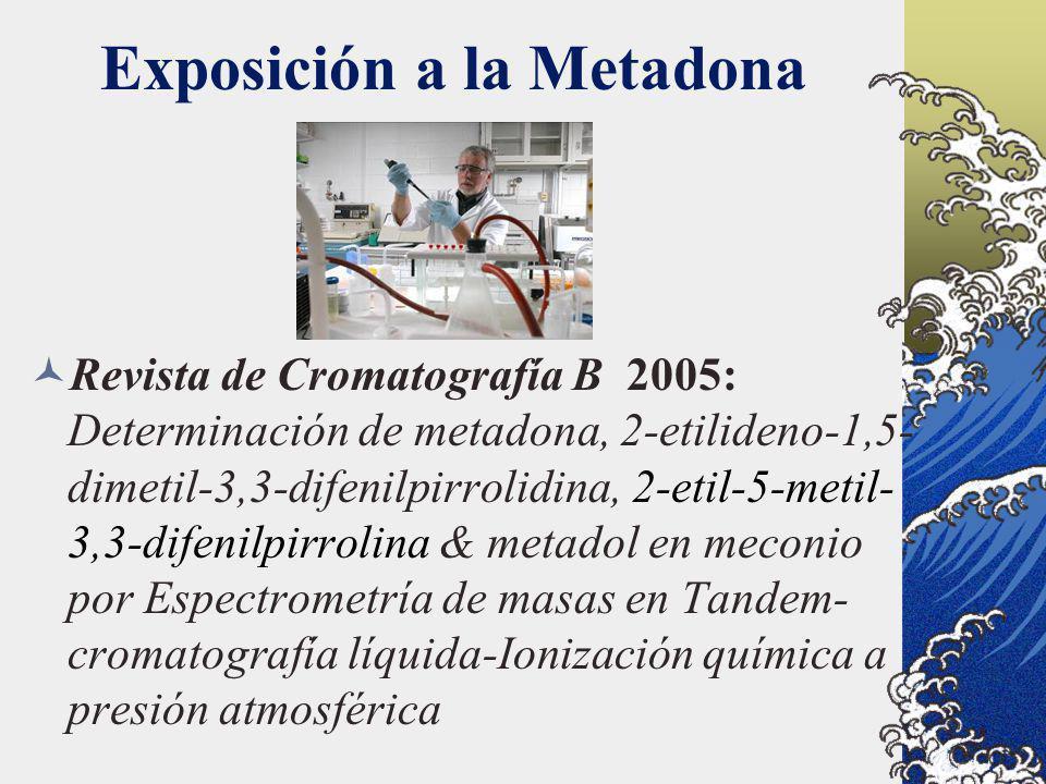 Exposición a la Metadona