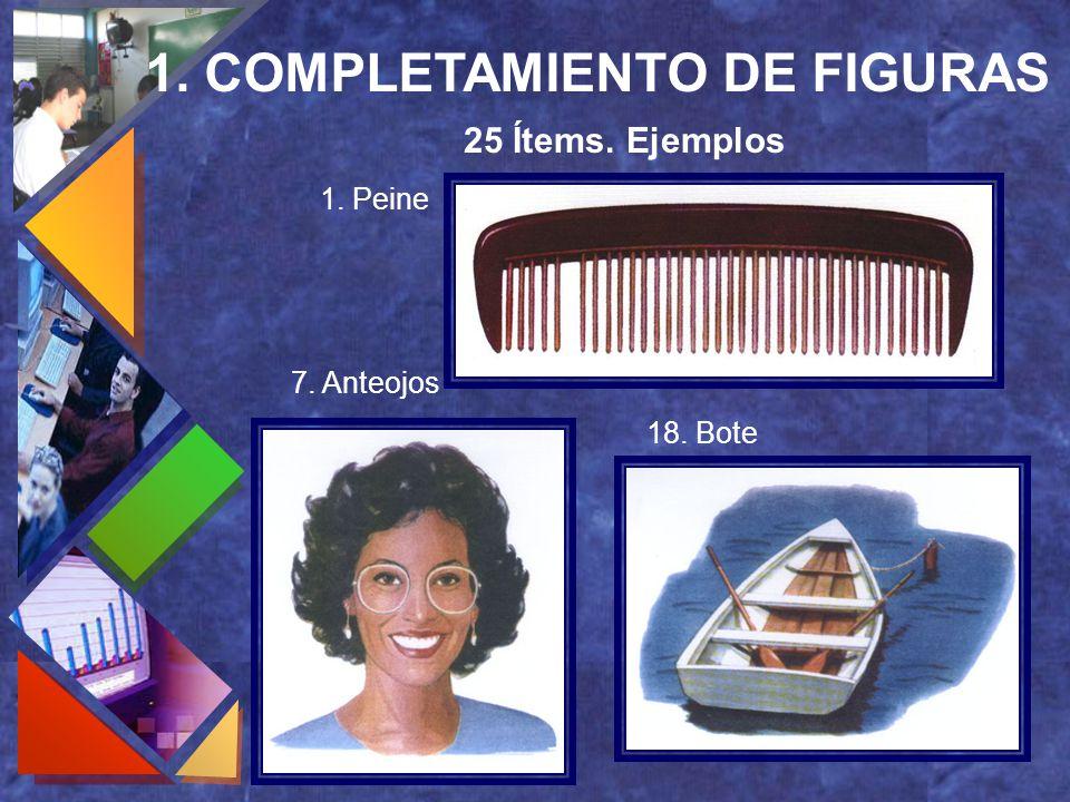 1. COMPLETAMIENTO DE FIGURAS