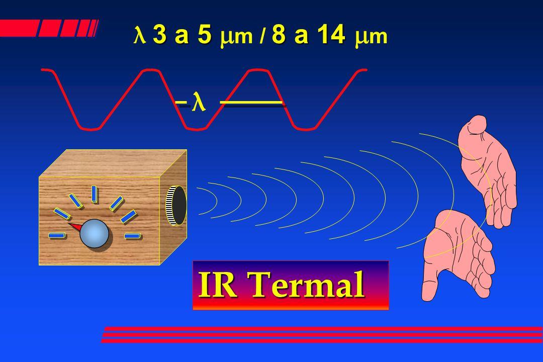 λ 3 a 5 mm / 8 a 14 mm λ IR Termal