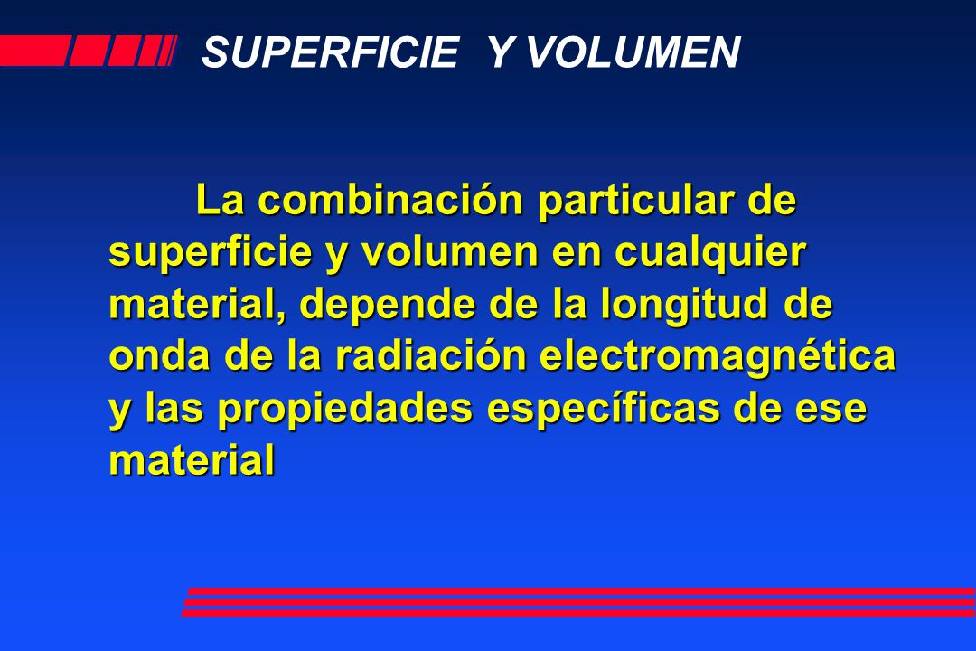 SUPERFICIE Y VOLUMEN