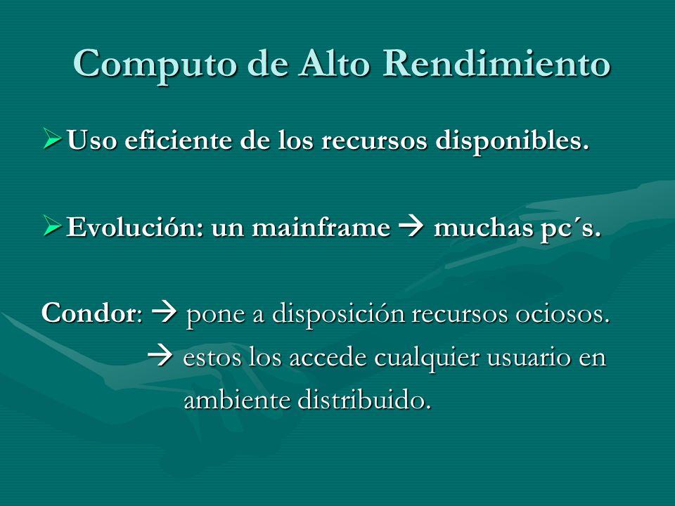 Computo de Alto Rendimiento