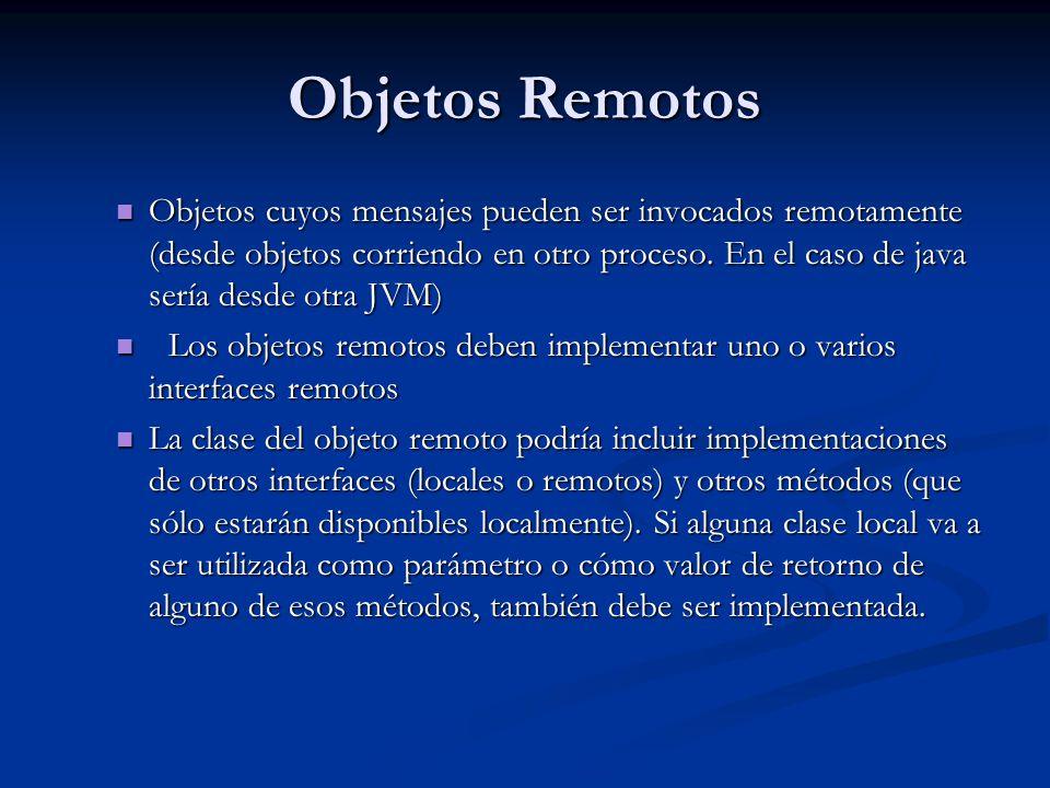 Objetos Remotos