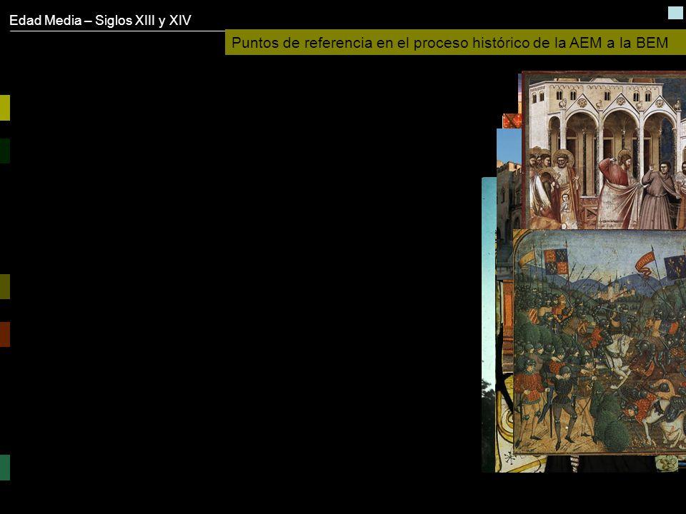 Puntos de referencia en el proceso histórico de la AEM a la BEM