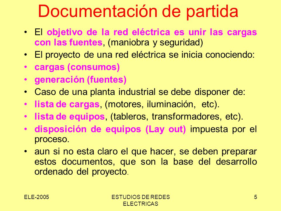 Documentación de partida