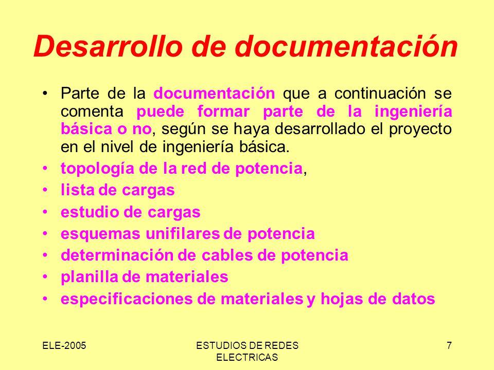 Desarrollo de documentación
