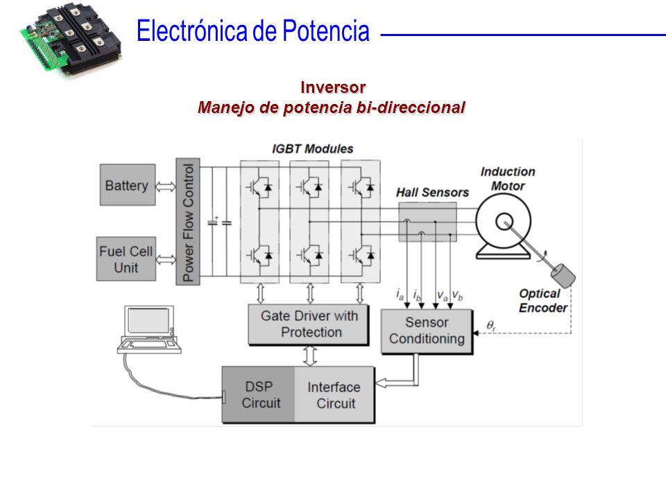 Manejo de potencia bi-direccional