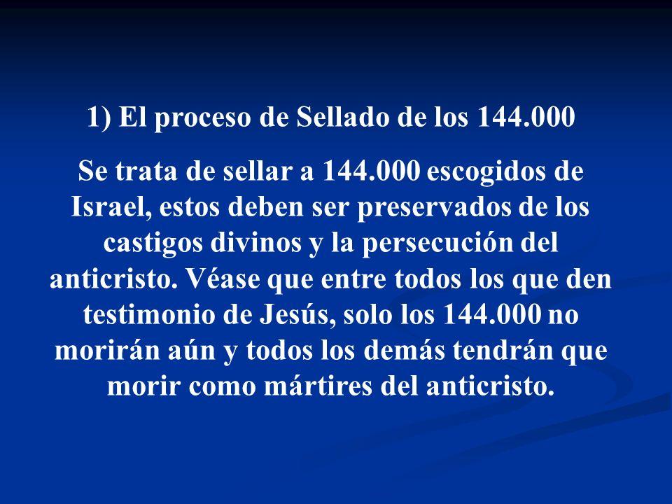1) El proceso de Sellado de los 144.000