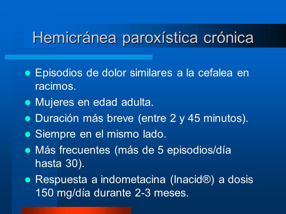 Hemicránea paroxística crónica