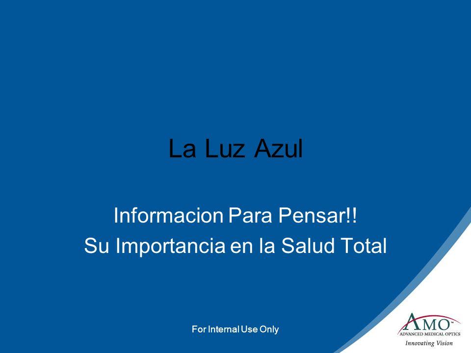 Informacion Para Pensar!! Su Importancia en la Salud Total
