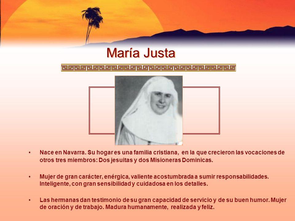 María Justa