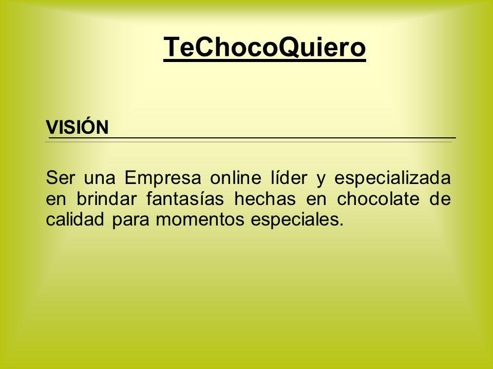 TeChocoQuiero VISIÓN.