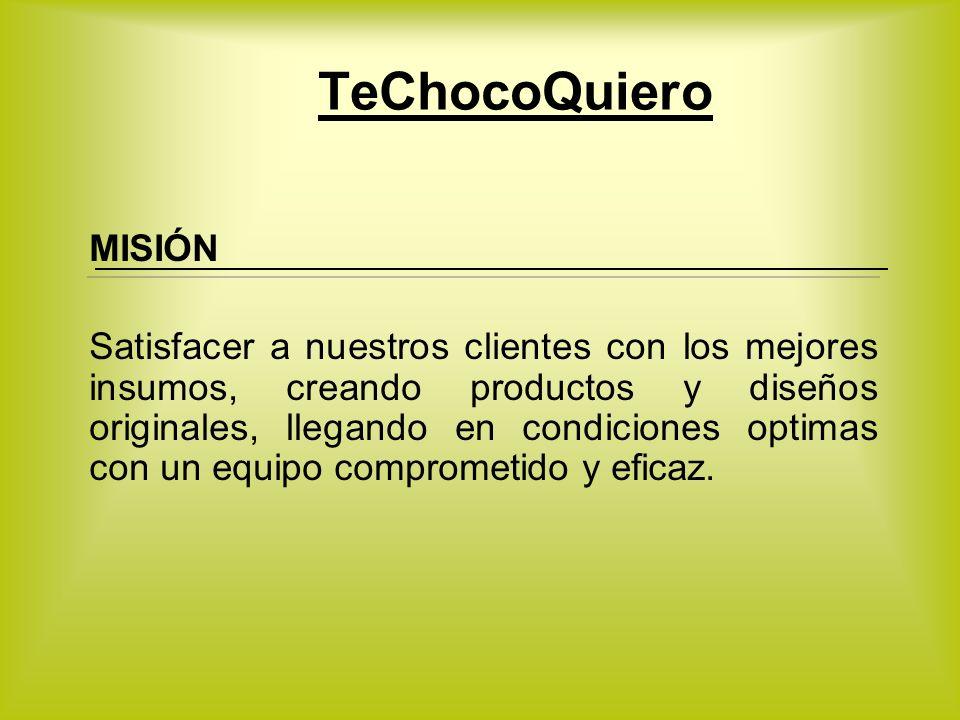 TeChocoQuiero MISIÓN.