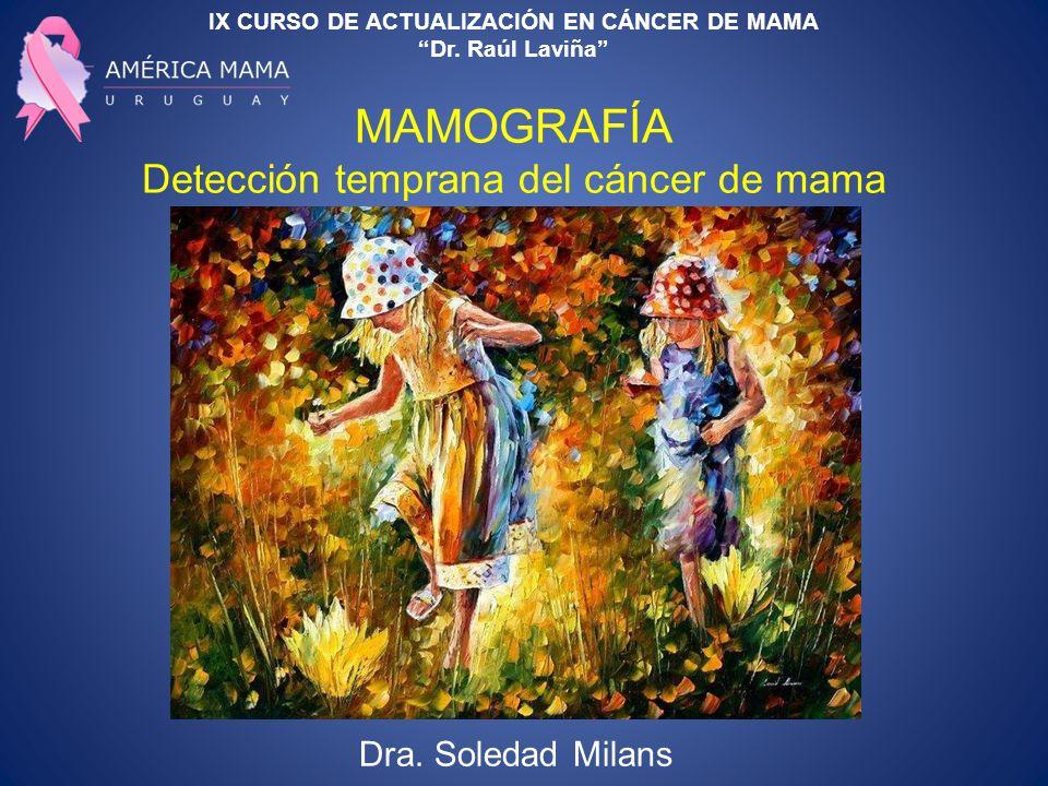 IX CURSO DE ACTUALIZACIÓN EN CÁNCER DE MAMA Dr