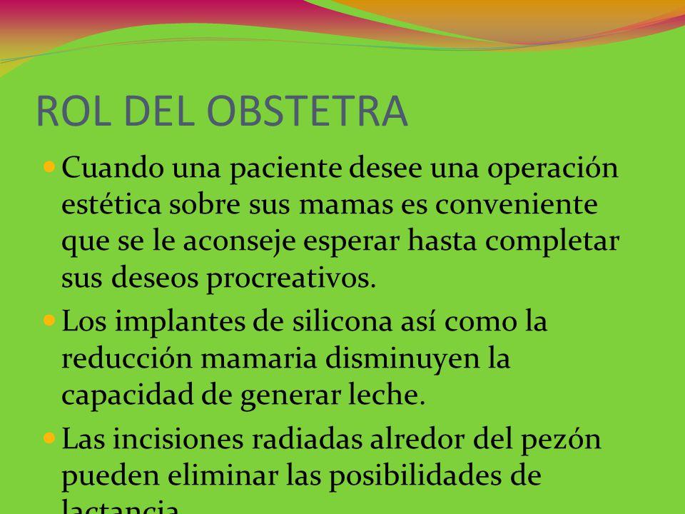 ROL DEL OBSTETRA