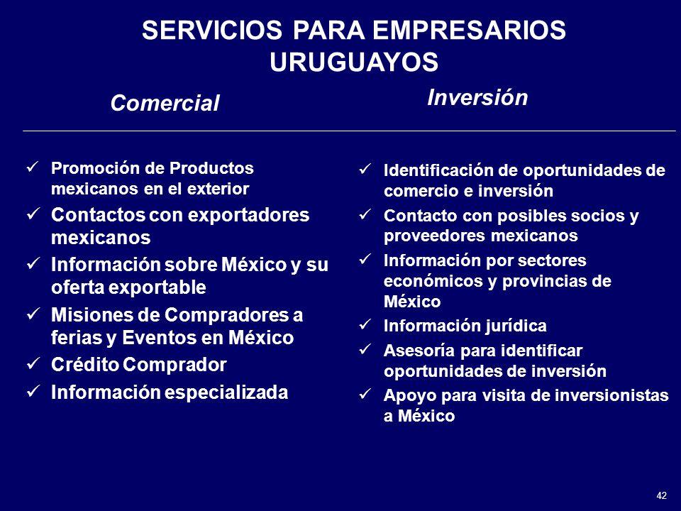 SERVICIOS PARA EMPRESARIOS URUGUAYOS